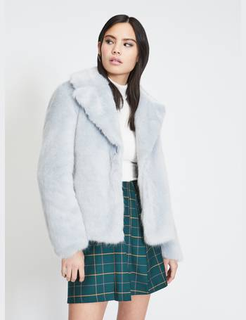 baaf1dd32e62 Shop Women's Miss Selfridge Faux Fur Coats up to 75% Off | DealDoodle