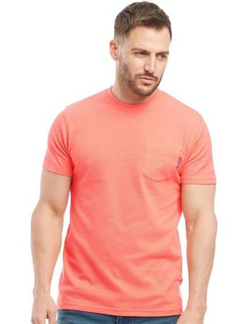 Peter Werth Seymour Mens Grey Short-Sleeved T-Shirt