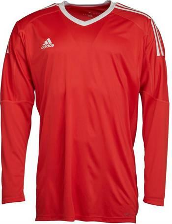 7e58b9a7c Adidas. Mens Revigo 17 Goalkeeper Jersey Bright Red White