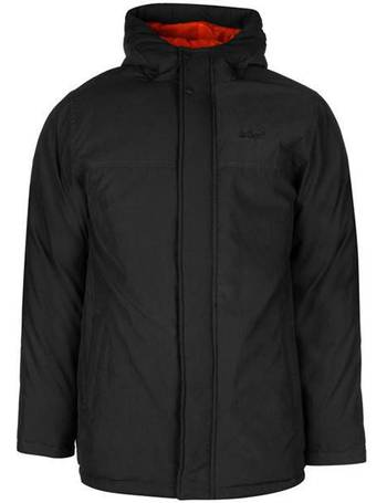 Lee Cooper Mens Park Quilted Softshell Jacket