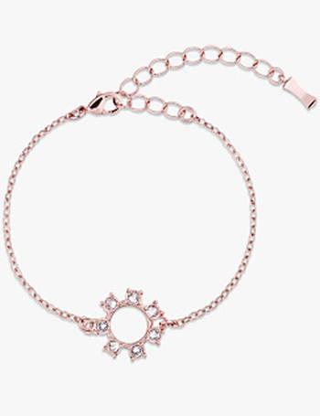 257cac733 Ted Baker. Cytie Swarovski Crystal Clockwork Chain Bracelet