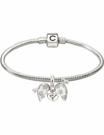 f2724a4f5093c Sterling Silver Cupid's Arrow Bead Bracelet