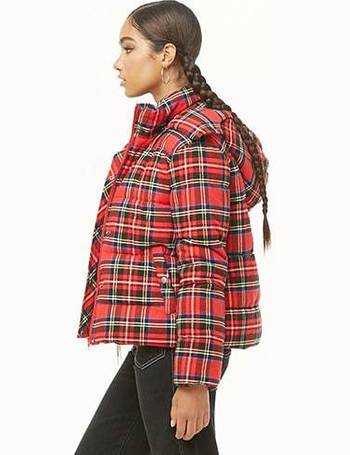 ce850eebe Plaid Puffer Jacket
