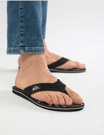 1501cfc296c2 Molokai Flip Flop In Black Blue Grey from ASOS