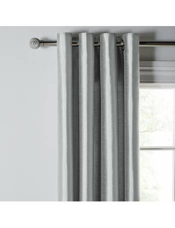 ARGOS RRP £24.99 BLACKOUT THERMAL 46x54 Navy Blue Grey Curtains Pencil Pleat