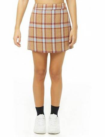 a144ebd86 Shop Women's Forever 21 Check Skirts up to 70% Off | DealDoodle