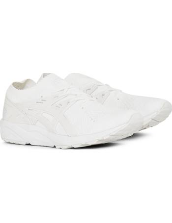 add36469124bd Asics. Gel-Kayano Trainer Knit White. from The Idle Man
