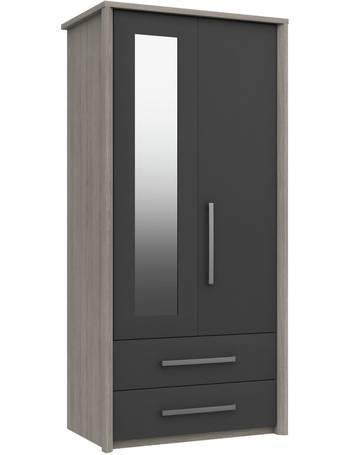 Argos 2 Door Wardrobes Up To 50, Argos One Door Mirrored Wardrobe