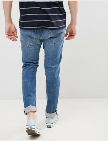 e1b9b1f0aa3 512 slim tapered low rise jeans in zonkey light wash from ASOS