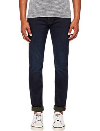 ac6ec4100 Shop Men s Ted Baker Tapered Jeans up to 50% Off