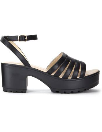 50159d5b0b8 Black Multi Strap Chunky Sandals from KOI Footwear