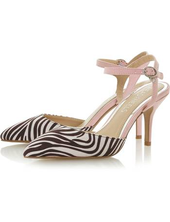 33e0a5ccd7a Cindi Mid Heel Open Court Shoe