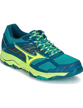new concept aa039 d108d WAVE MUJIN 4 (W) women s Running Trainers in Blue from Spartoo