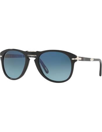 5a408b7838fcc Persol. PO0714SM Steve McQueen Folding Polarised Aviator Sunglasses. from  John Lewis