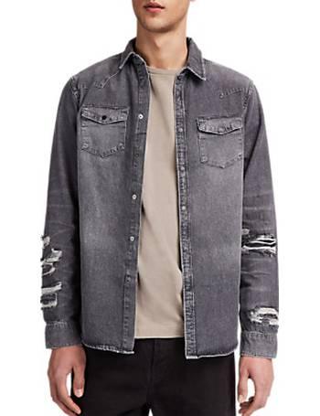 257329edeb Shop Men s John Lewis Denim Shirts up to 50% Off