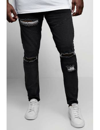 ed48983a8ae2 Shop BoohooMan Mens Distressed Jeans up to 70% Off | DealDoodle