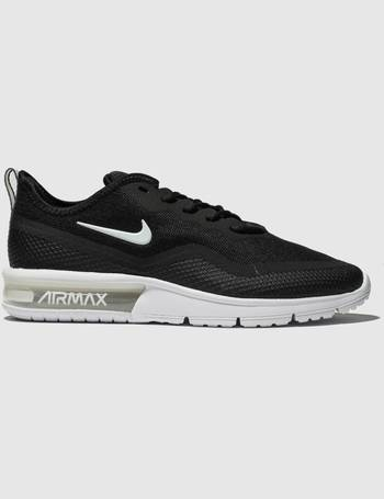 best sneakers c7682 e5e84 Black   White Air Max Sequent 4.5 Trainers from Schuh