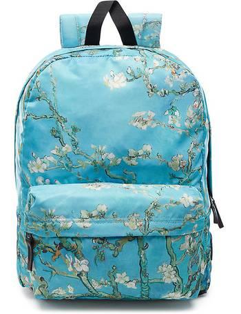 2a83ad4c0a6e3 Vans X Van Gogh Museum Almond Blossom Backpack (van Gogh Almond Blossom)  Women Blue
