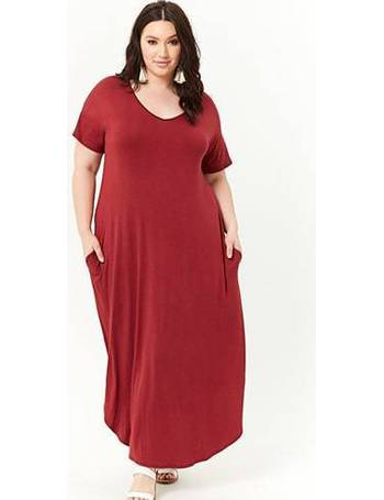 Shop Womens Forever 21 Plus Size Dresses Up To 80 Off Dealdoodle