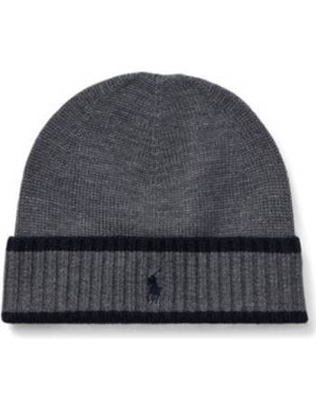 494722edc4d Striped Merino Wool Hat from Ralph Lauren