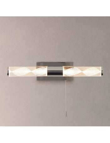 0260f68421e8 Oslo LED Over Mirror Bathroom Wall Light from John Lewis