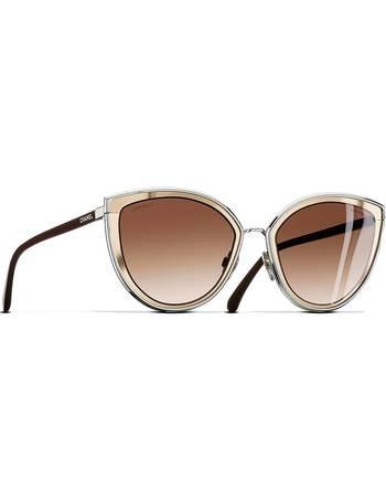 f2fa8e580260 Chanel. Cat Eye Sunglasses Silver Sunglasses. from Sunglass Hut Uk