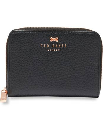 e3d219edf7fce3 Ted Baker. Plie Textured Leather Small Zip Purse. from House Of Fraser