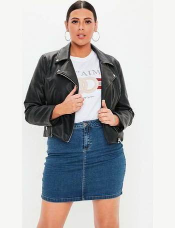 fa901b3ba0 Missguided Plus Size Skirts | Denim & Leather - Dealdoodle