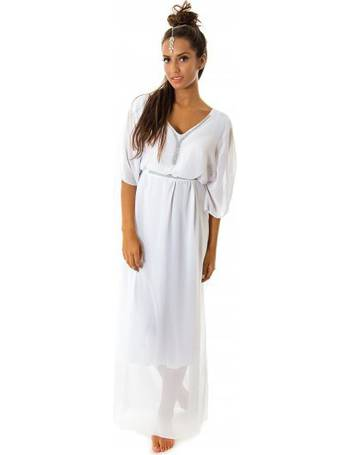 67a19d3ebb3 Limited Edition White Embellished Maxi Dress from The Fashion Bible