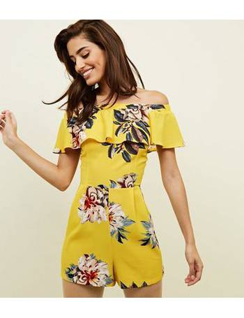 0b56588455 Shop New Look Women s Bardot Playsuits up to 75% Off