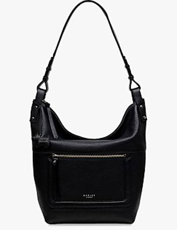 8d876a5341ac4 Eltham Palace Leather Large Zip-Top Hobo Bag from John Lewis