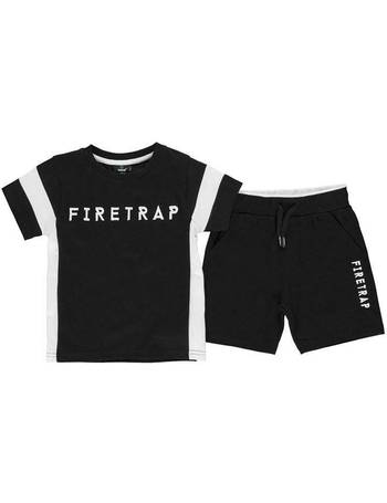 f40838b3 Short Sleeve T Shirt Set Infant Boys from Sports Direct