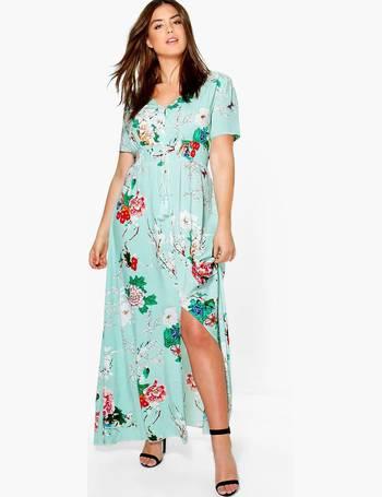 cef26078e7c2 Boohoo Plus Size Dresses | Party & Maxi Styles | DealDoodle