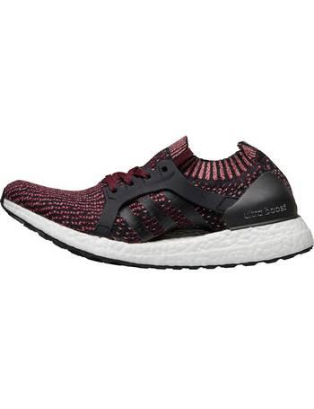 0d1da5a2e Womens UltraBOOST X Neutral Running Shoes Core Black Core Black Mystery  Ruby from Mandm