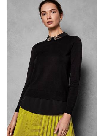4ed50cba30cb0a Black Embellished Sweater from Next. Quick View · Ted Baker. Black  Embellished Sweater