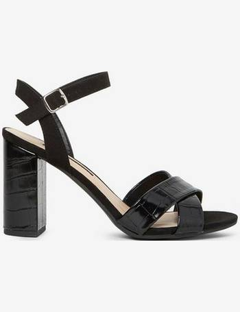 788b7af93c36 Womens Black  Serena  Block Heel Sandals- Black from Dorothy Perkins