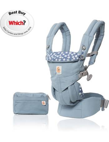 97bbbe61e1d Omni 360 Baby Carrier-Blue Daisies from Kiddies Kingdom