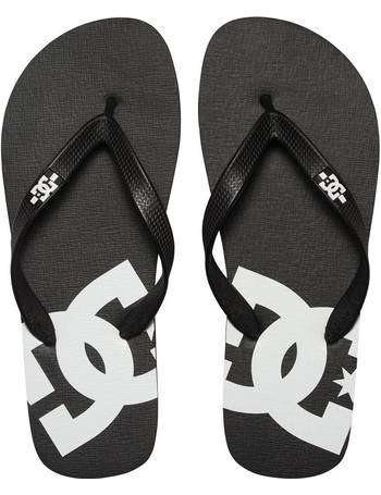 cfb9ac0cb DC Spray Flip Flops - Black   White UK 10 from Urban Surfer