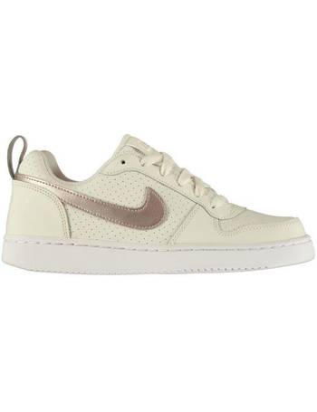 a28f91a8c9 Shop Sports Direct Girl's Court Trainers up to 55% Off   DealDoodle