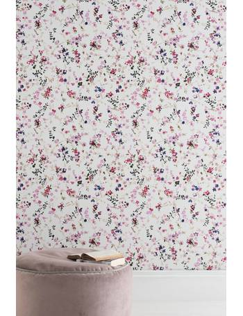 Paste The Paper Meadow Floral Wallpaper from Next