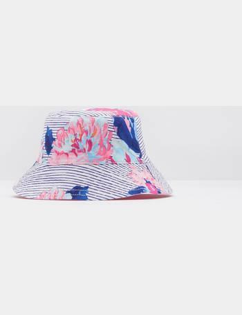 38abc91c7ea Pool Blue Stripe Sunseek Reversible Sun Hat from Joules
