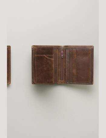 Tan Leather Two Fold Extra Capacity Wallet from Next ff7747569b12