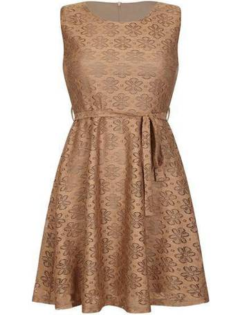 7d088cc0df Mela London. Floral Printed Lace Skater Dress. from House Of Fraser