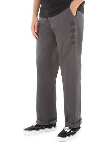 2248b4347c Authentic Chino Pro Trousers (asphalt (independent)) Men Grey from Vans