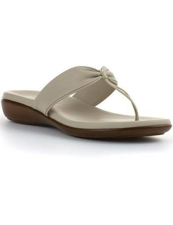 0ec6391bd820 Shop Women s Shoe Zone Toe Post Sandals up to 40% Off