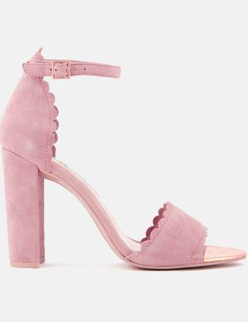 8508556069 Ted Baker. Women's Raidha Suede Barely There Block Heeled Sandals