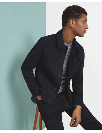 091c318aa Shop Men s Ted Baker Wool Jackets up to 70% Off