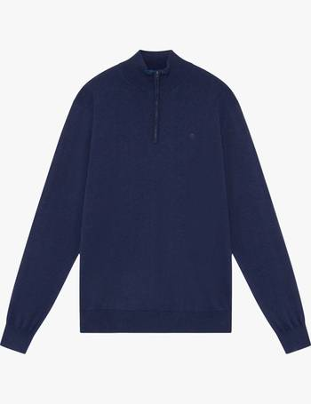 Hackett London Herren Pullover Cotton Silk Crew