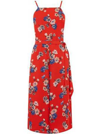 ac9a7d1c8578 Oasis. Floral Square Neck Jumpsuit. from House Of Fraser
