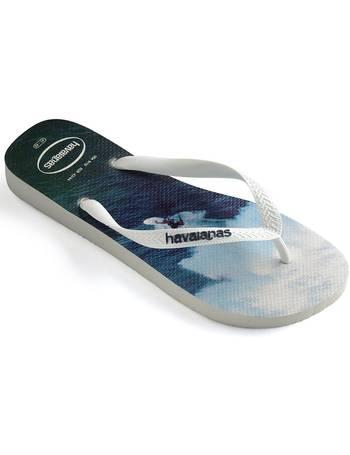 fd8d0e7ab Havaianas Hype Flip Flops - White   Navy Blue UK 1213 from Urban Surfer